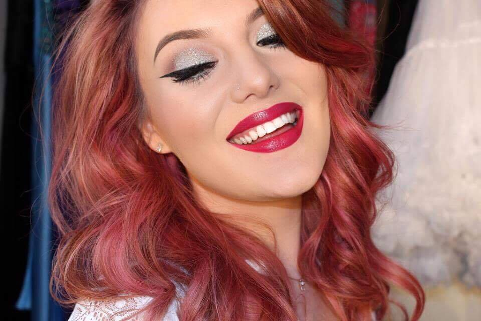 Creating that perfect bold lip